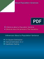 Chi-square Dan Uji f Untuk Uji Varians