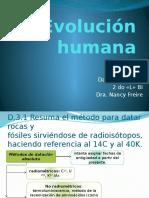 D.3 Evolución Humana. PRESENTACIÓN