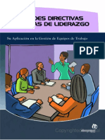 Habilidades Directivas y TécnicaHabilidades Directivas y Técnicas de Liderazgos de Liderazgo Faltan 30p