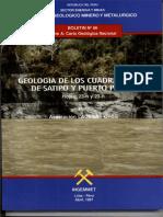 Geología - Cuadrangulo de Satipo
