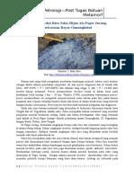 Mengenal Sekis Biru dalam Batuan Metamorf