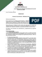 Comunicado Aptos Prueba Escrita Modalidad Virtual CLV 01FEB2016