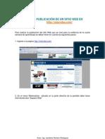 Manual Publicar Sitio Web