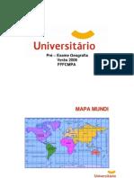 Geografia - Dicas fffcmpa 2006