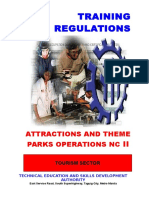 Attractions and Theme Parks Ncii