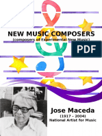 New Contemorary Composers