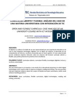 Articulo. Curriculum Abierto y Flexible