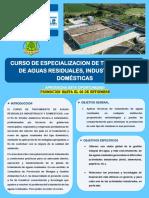 4-Brochure de Tratamiento de Aguas Residuales, Industriales y Domesticas