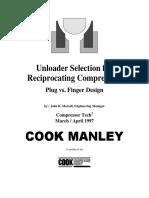 Unloader Selection for Recip Compressors