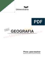Geografia - ufrgs com Gabarito 2005