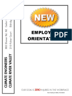3. New Employee Orientation