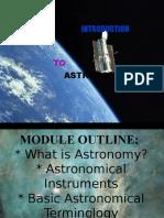 2. Astronomy