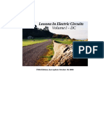 Lessons In Electric Circuits, Volume I – DC