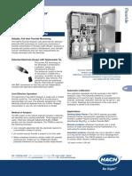 CA610 Analyzer Datasheet