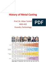 Cpt-1-History of Metal Casting