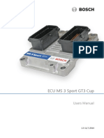 ECU MS 3 Sport GT3 Cup Manual