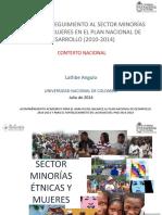 Minorias Etnicas y Mujeres_Nacional Villavicencio