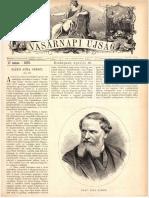 Báró Sina Simon - Vasárnapi Újság 1876. április 23.