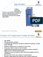 Are you looking for CTM(Compression Testing Machine)? - Aimil.com