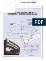 Precast Prestressed Concrete Horizontally Curved Bridge Beams