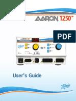 AARON 1250 User Guide