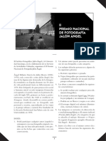 Bases II PREMIO NACIONAL DE FOTOGRAFÍA JALÓN ÁNGEL