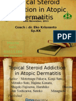 Topical Steroid Addiction in Atopic
