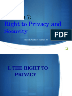 Session 7 Right to Privacy