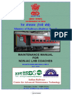 Maintenance Manual for Non AC LHB Coaches