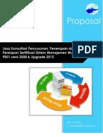 Proposal Persiapan ISO 9001