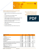 Swedbank's Year-End report 2015