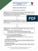 Despre Obiectivele Specifice Si Operationale