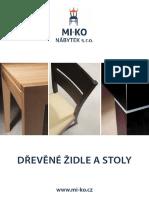 Drevene Zidle Stoly