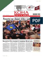 """Koha Ditore"" - ballina 18 shkurt 2014"