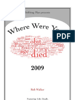 Where Were You? 2009