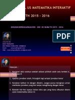 LATIHAN SOAL UN MATEMATIKA 1 INTERAKTIF 2015 -2016.ppsx