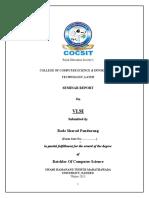 Rode Seminar Report