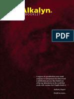 Kre-Alkalyn Research Booklet