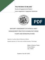 Maturity Assessment