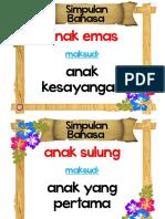 Simpulan Bahasa