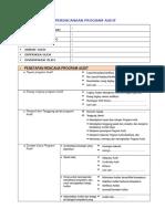 Fr.perencanaan Program Audit