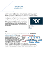 structures of web pages