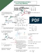 Statics Notes