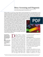 DM Screening and Diagnosis