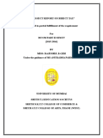 A PROJECT REPORT ON DIRECT TAX.docx