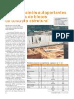 ORÇAMENTO REAL - Paredes Painéis Autoportantes x Alvenaria de Blocos de Concreto Estrutural