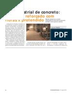 ORÇAMENTO REAL - Piso Industrial de Concreto Armado x Reforçado Com Fibras x Protendido