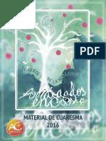 MATERIAL DE CUARESMA 2016
