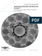Non-Brownian Particle-Based Materials With Microscale