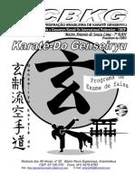 A Post i Lade Karate Gen Seiryu